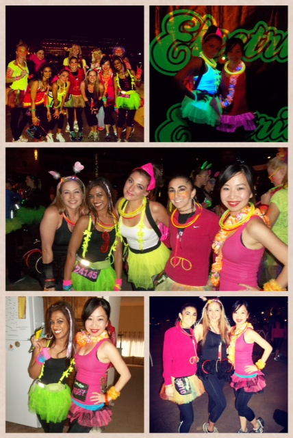 Our team was called tutuhot and we all wore tutus :)